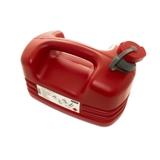 Galão Polietileno Vermelho P/ Gasolina de 5L - Ref: 2140 - BREMEN