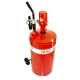 Propulsora Pneumática de Graxa C/ Reservatório e Carrinho 50kg - Ref: MAC 1050 - MAC LUB