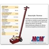 Macaco Kalango Hidropneumático 15 Ton - MCM